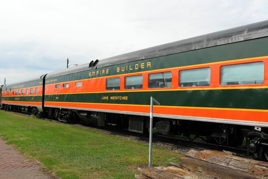 Railcar Repainting Project Complete in Great Northern Colors