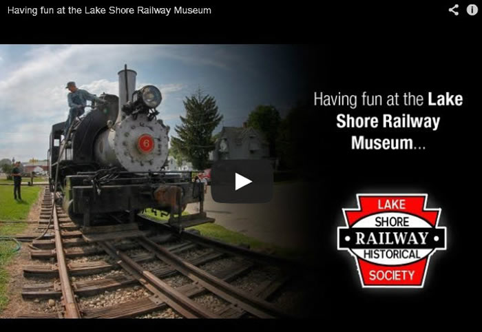 Lake Shore Railway Museum Steam Weekend Video