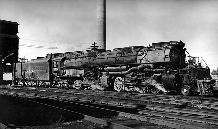 Union Pacific 4-8-8-4 Big Boy is being restored for operation