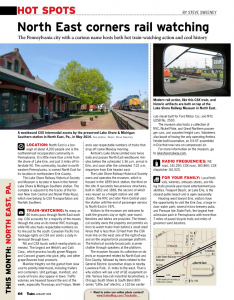 Lake Shore Railway Museum in January 2015 Trains Magazine