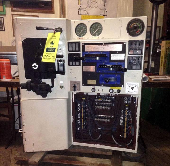 GE Donates Locomotive Control Console to Lake Shore Railway Museum