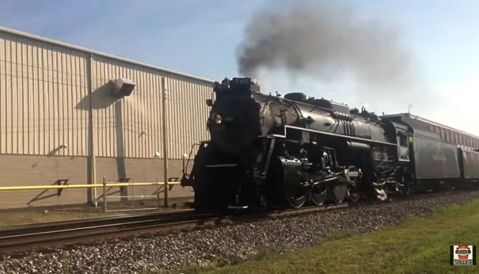 "<span class=""entry-title-primary"">Nickel Plate 765 Rolls by North East</span> <span class=""entry-subtitle""> - Memories of yesteryear passing by the Lake Shore Railway Museum</span>"