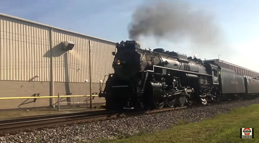 Nickel Plate 765 Rolls by North East