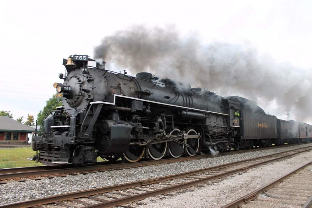 Nickel Plate 765 Returns Through North East