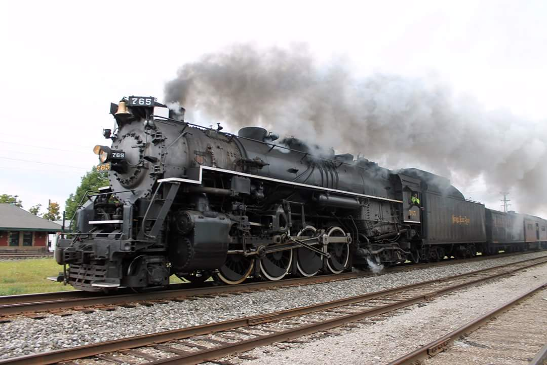 Nickel Plate 765 steaming by North East - Photo Credit: Jon Pippin
