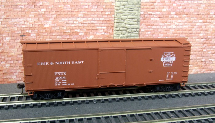 """<span class=""""entry-title-primary"""">2016 Lake Shore Railway HO Boxcar Available Now</span> <span class=""""entry-subtitle""""> - Your choice of assembled or unassembled</span>"""