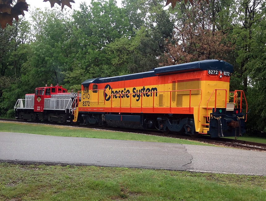 Restored Vintage Dash-7 Locomotive Displayed at GE Transportation in Erie