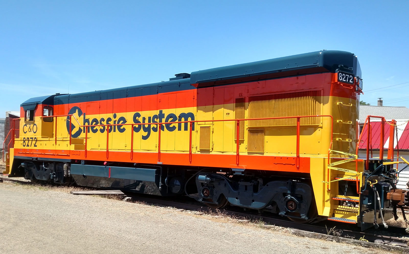 GE Dash 7  in C&O #8272 colors