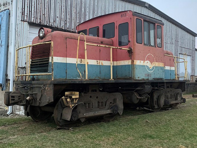 "Tenth Locomotive added to Lake Shore Railway Museum's ""Locomotives that our parents and grandparents built collection."""